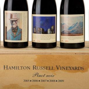 Hamilton Russell Pinot noir Vertical