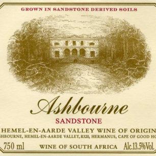 Ashbourne Sandstone 2020 label